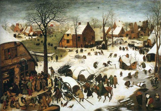 Bruegel Census at Bethlehem 1566