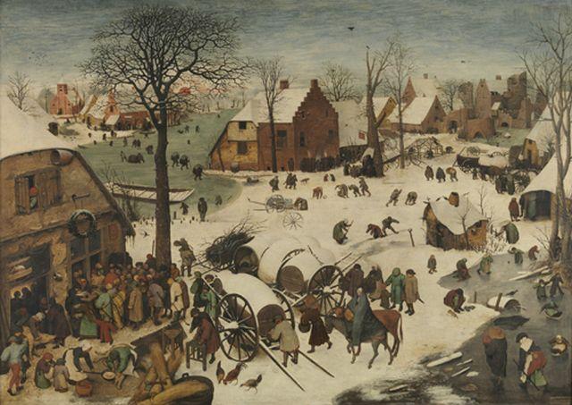 Bruegel I, Census at Bethlehem 1566