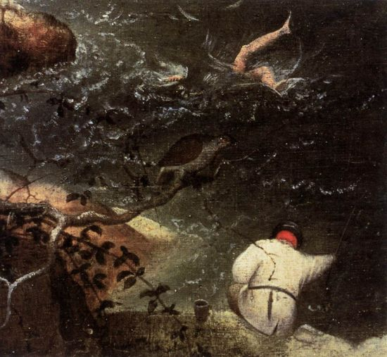 Bruegel - The Fall of Icarus detail 2
