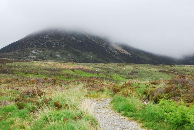 Coire Fhionn Lochan: 'mountain line and shoreline'