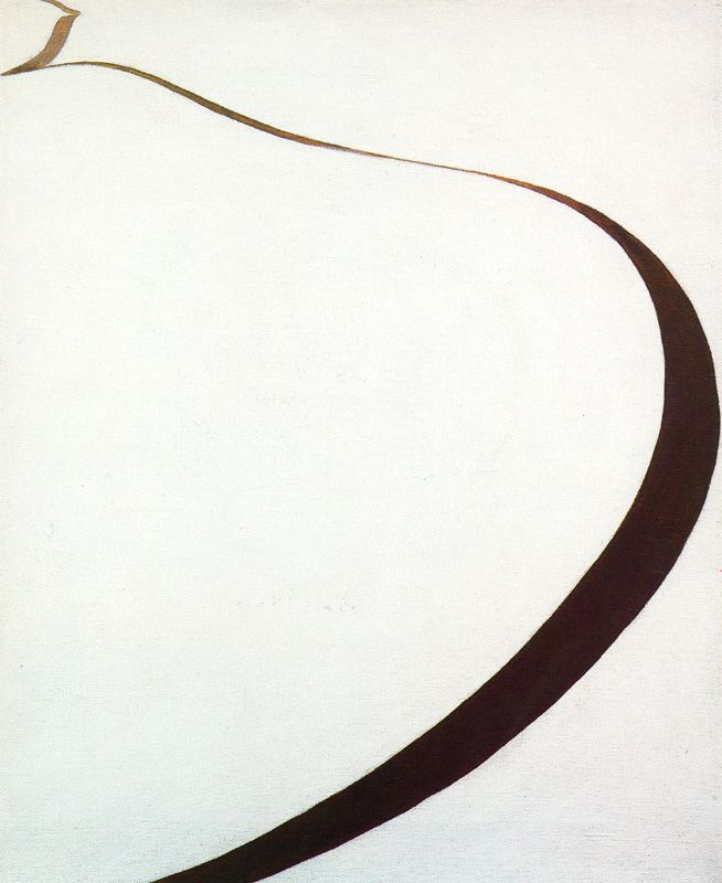 Georgia O'Keeffe, Winter Road 1, 1963