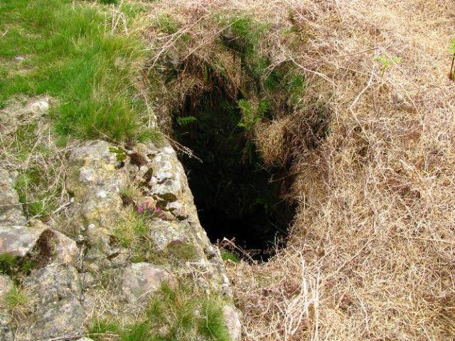 Glen Sannox barytes mine