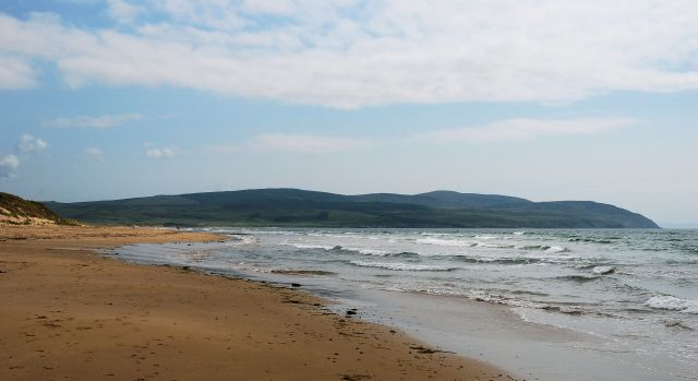 A tour of Kintyre: 'a little crowded'