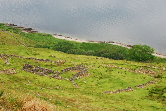Over a hundred people farmed the land around Laggan