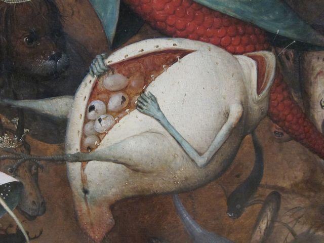 Pieter Bruegel I-Fall of the rebel Angels 1562 detail 1