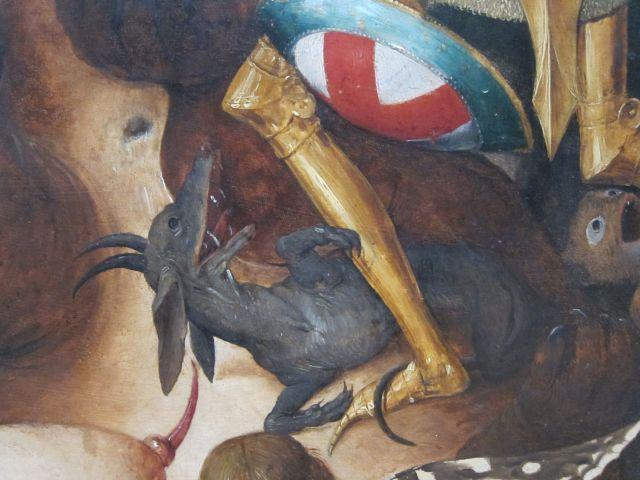 Pieter Bruegel I-Fall of the rebel Angels 1562 detail 2