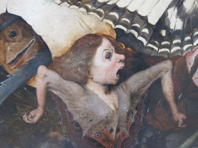 Pieter Bruegel I-Fall of the rebel Angels 1562 detail 4