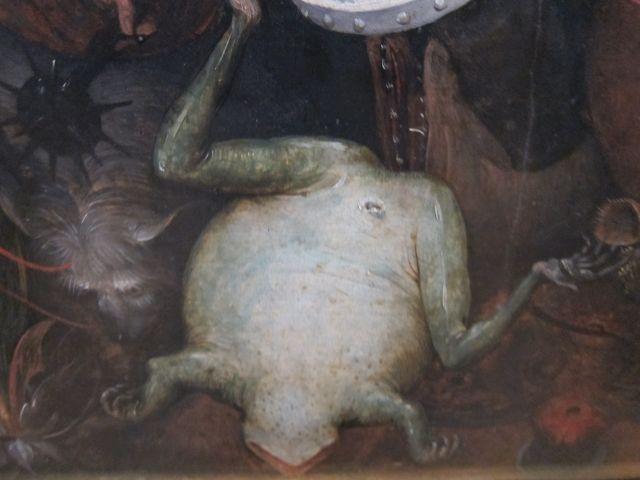 Pieter Bruegel I-Fall of the rebel Angels 1562 detail 5
