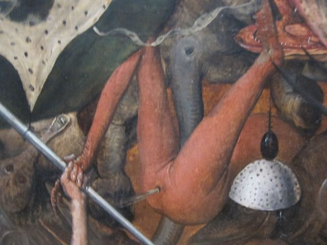 Pieter Bruegel I-Fall of the rebel Angels 1562 detail 6