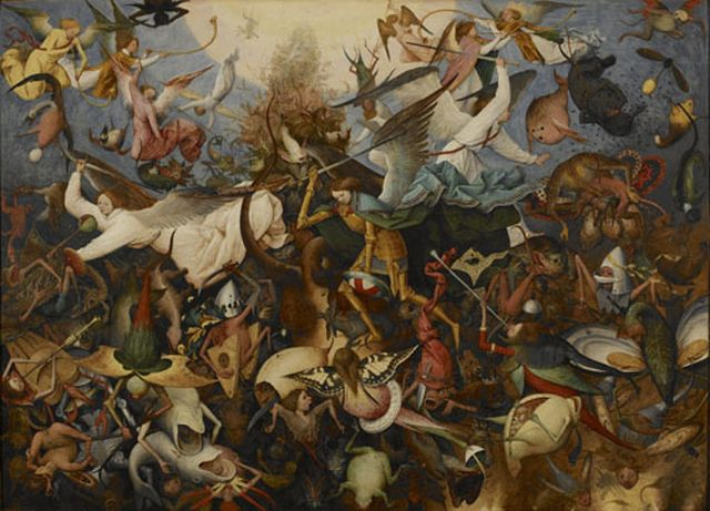 Pieter Bruegel I-Fall of the rebel Angels 1562