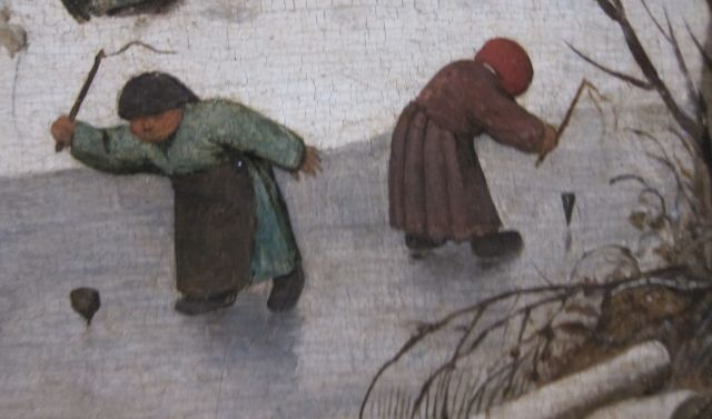 Pieter Bruegel Census at Bethlehem detail 5
