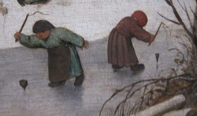 Pieter Bruegel Census at Bethlehem detail 5