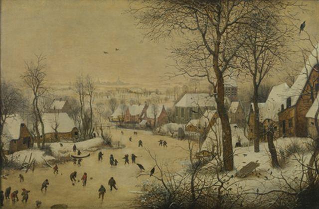 Pieter Bruegel Trap and Birds 1565