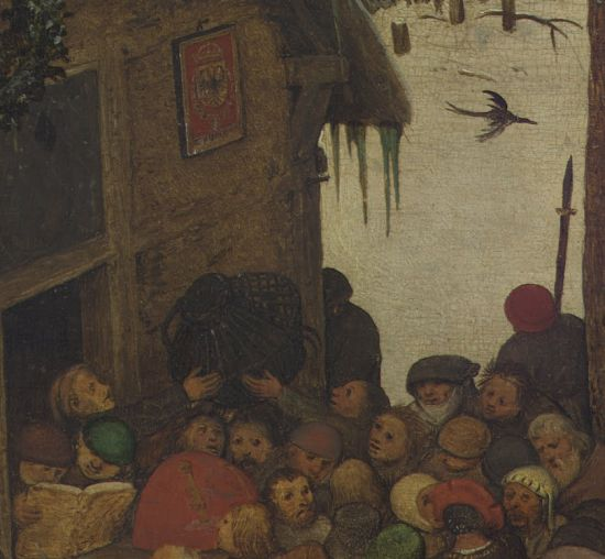 The Census at Bethlehem detail