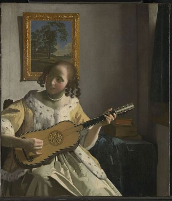 The Guitar Player (about 1672) by Johannes Vermeer