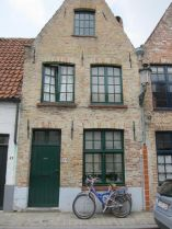 Bikes and Bruges architecture