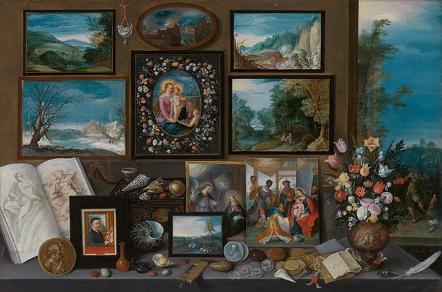Frans Francken the Younger: The Art Cabinet of Nicolaas Rockox