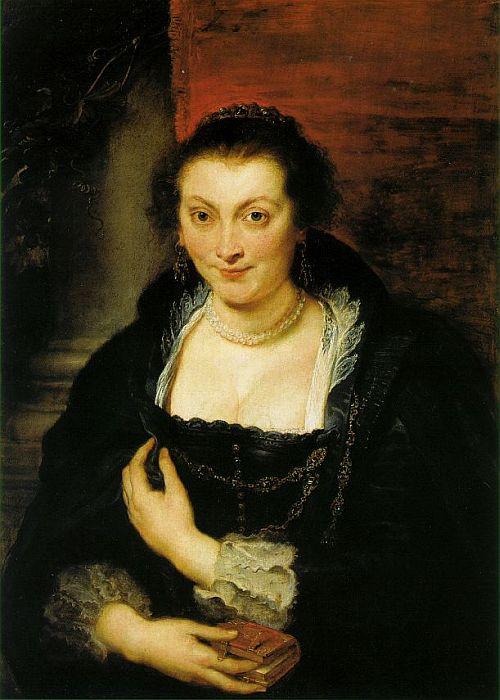 Isabella Brandt by Peter Paul Rubens 1625