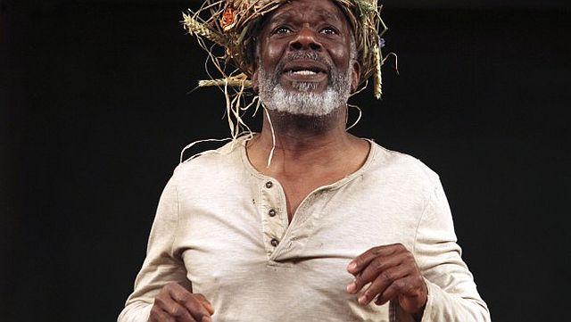 Joseph-Marcell as King Lear