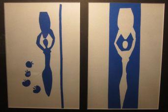 Matisse, Blue Nude, 1958