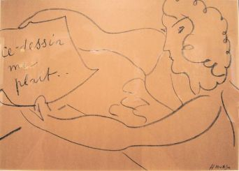 Matisse, Ce Dessin me Plait, 1951