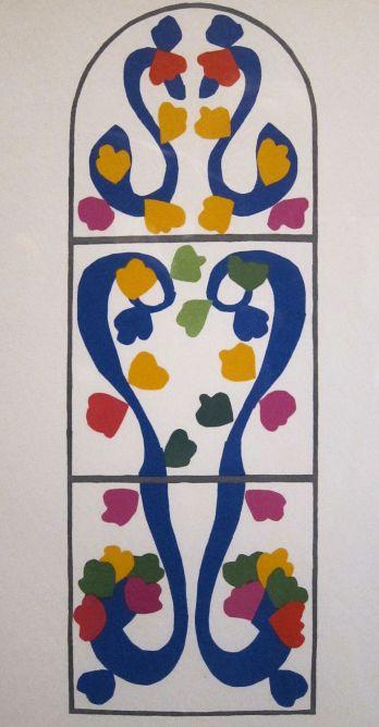 Matisse, Vine, 1958