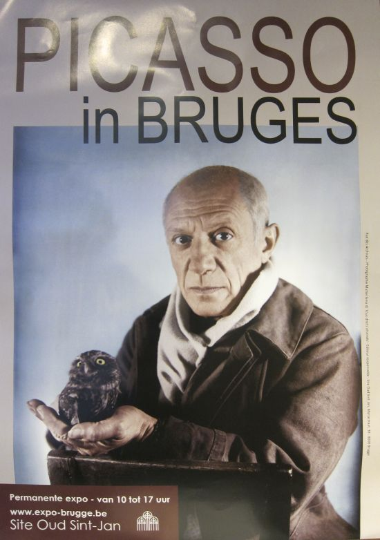 Picasso in Bruges poster