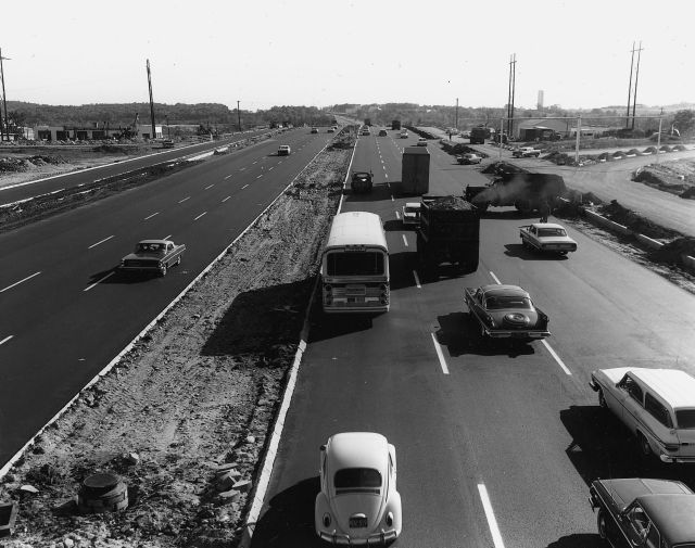 Route 128 in the 1960s