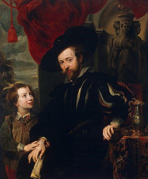 Rubens and his son Albert