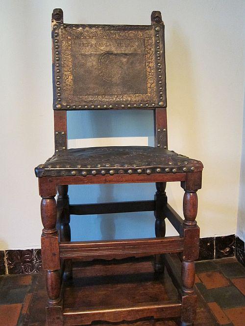 Rubens house 3 his chair