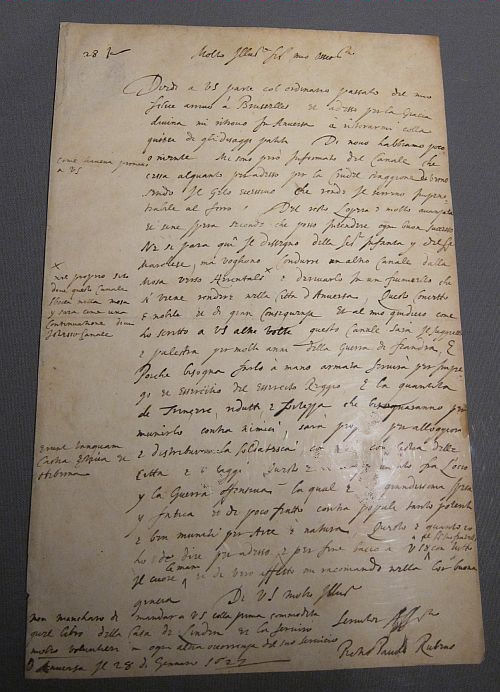 Rubens letter to French humanist Pierre Dupay