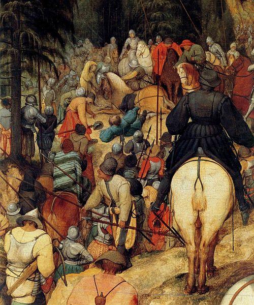 Pieter Bruegel the Elder – The Conversion of Saint Paul, detail