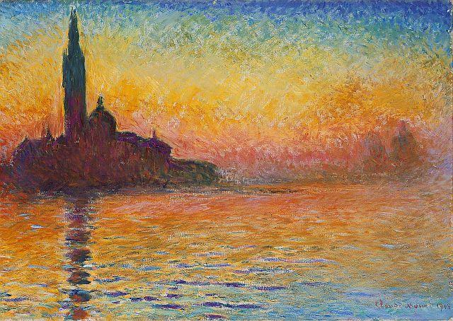 Claude Monet, San Giorgio Maggiore by Twilight, 1908