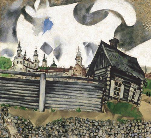 Grey house 1917