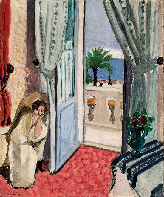 Interior at Nice (Room at the Hôtel Méditerranée) 1919