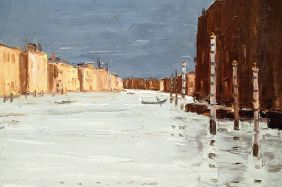 Kyffin Williams Grand Canal 2004
