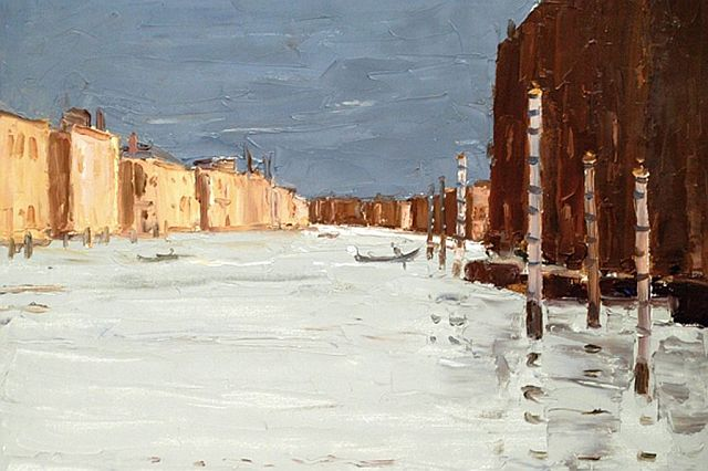 Kyffin Williams The Grand Canal 2004