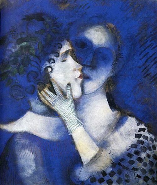 Lovers in Blue 1914