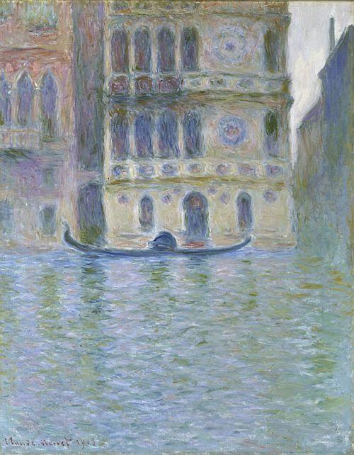 Monet, Palazzo Dario, 1908