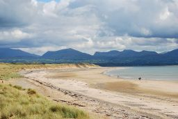 Big sky country: a walk on Llanddwyn beach