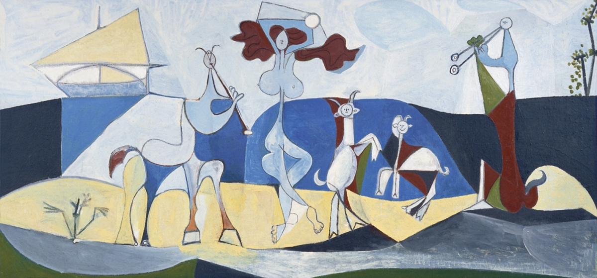 Picasso in Antibes: the joy of life