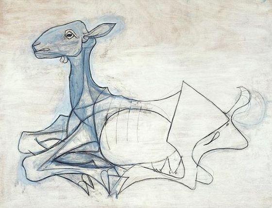 Picasso, La Chevre, 1946
