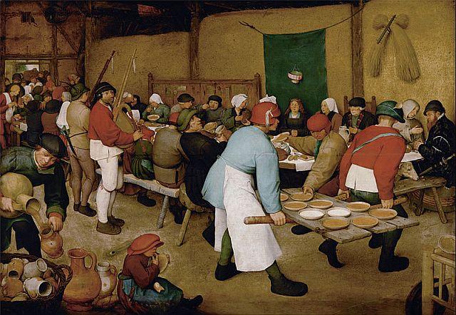 Pieter Bruegel Peasant Wedding