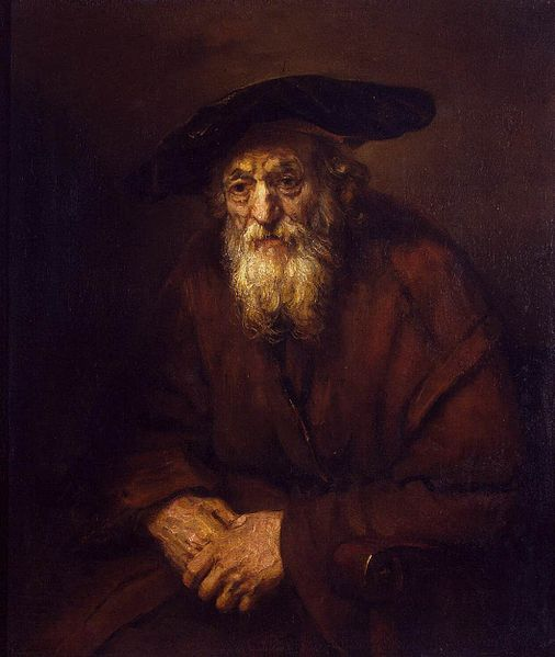 Rembrandt Portrait of an Old Jew 1654