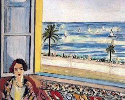 Matisse in Nice: through an open window