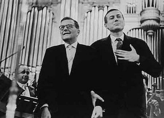 Shostakovich and Yevtushenko