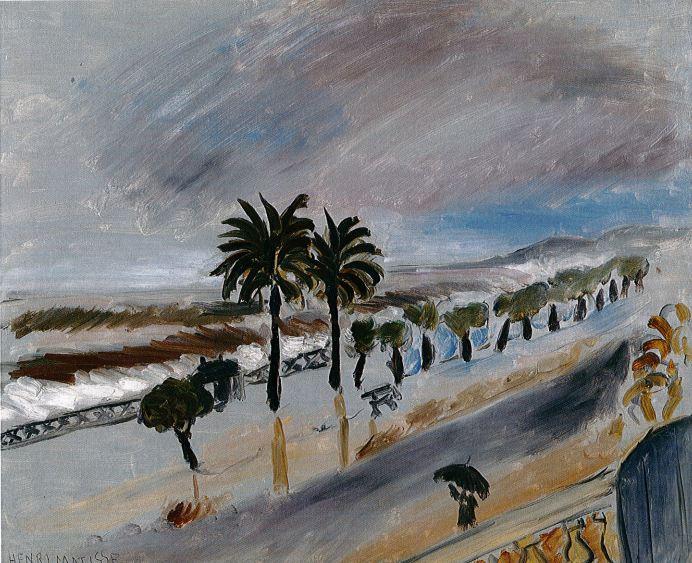 Tempête à Nice, 1919