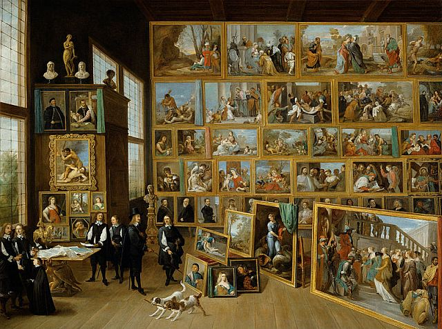 The Art Collection of Archduke Leopold Wilhelm in Brussels, 1650