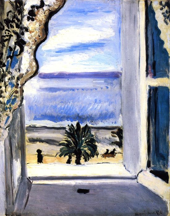 Matisse in nice through an open window that 39 s how the for Henri matisse fenetre
