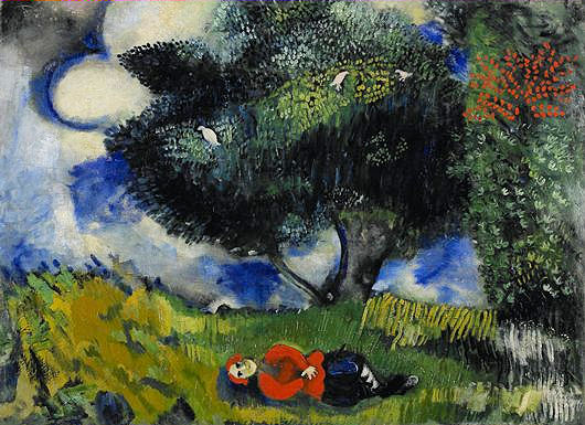 The Poet with the Birds 1911